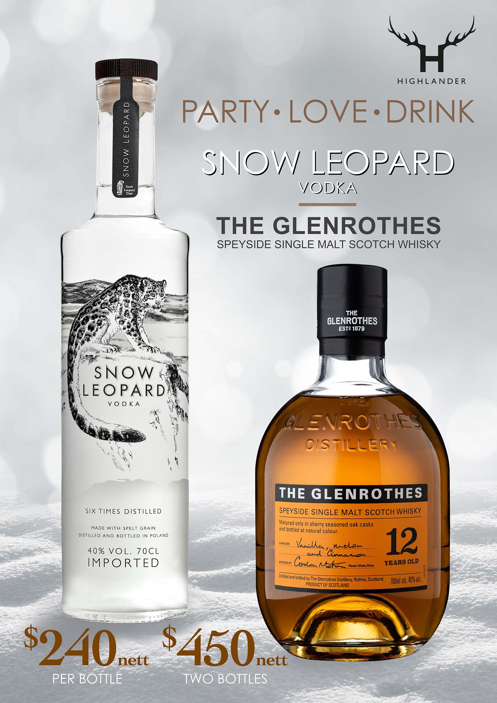 Snow Leopard-Glenrothes
