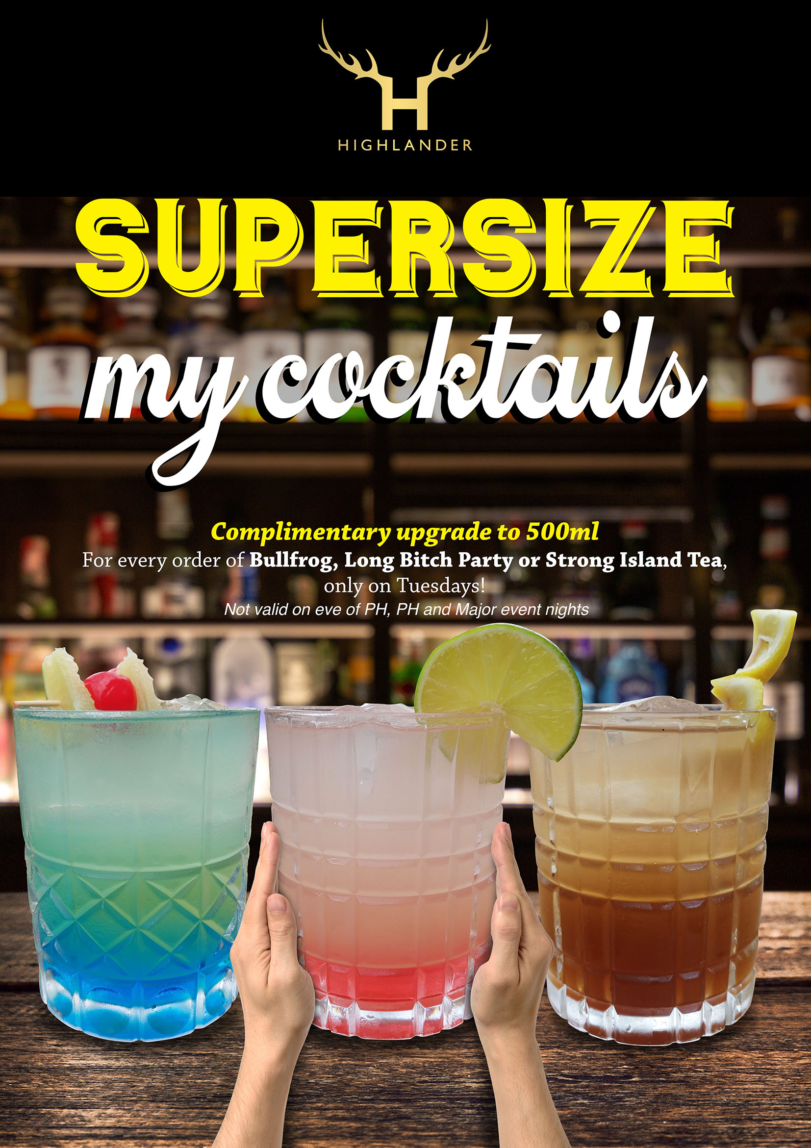 Supersize My Cocktails