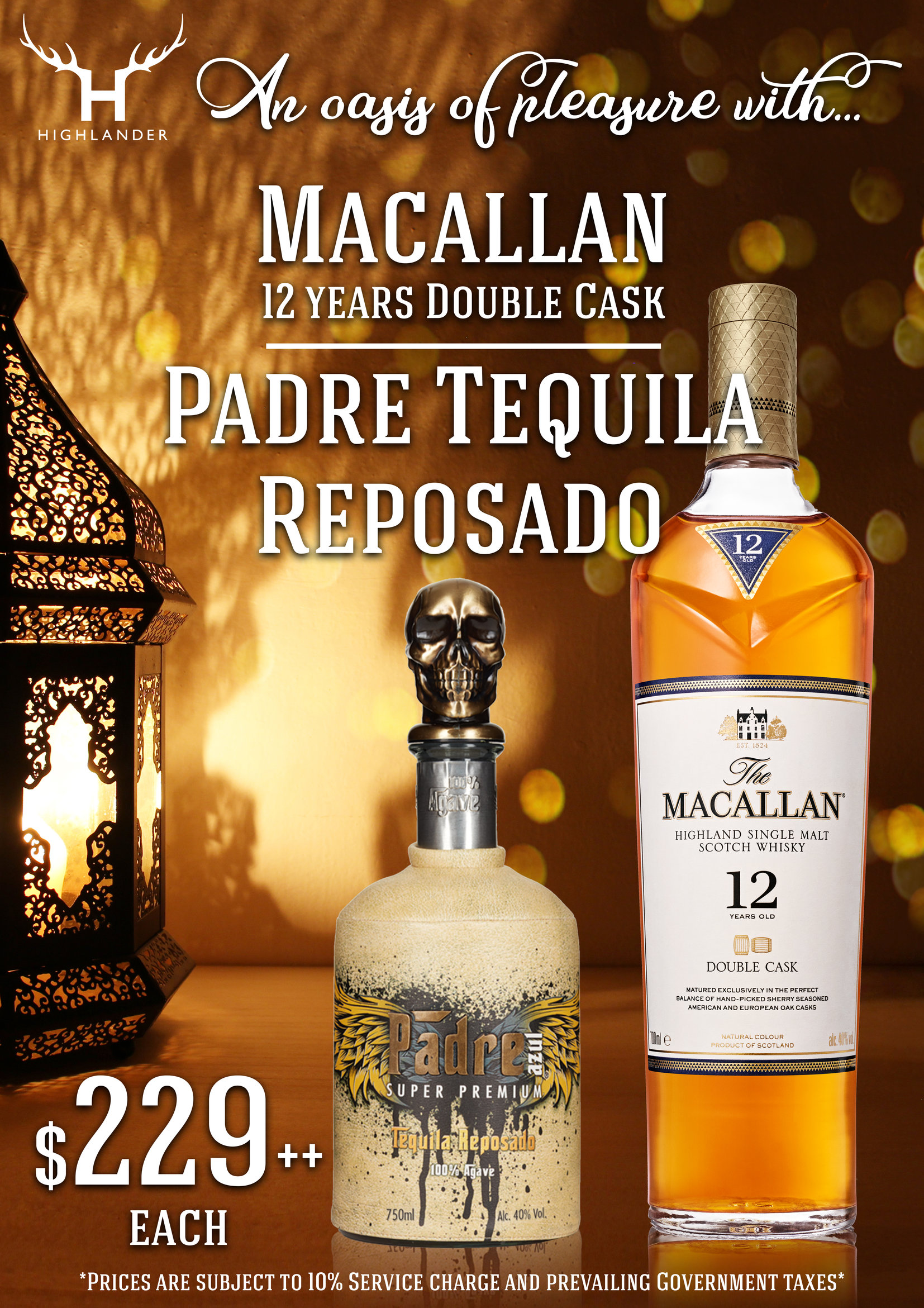 Macallan and Pedro