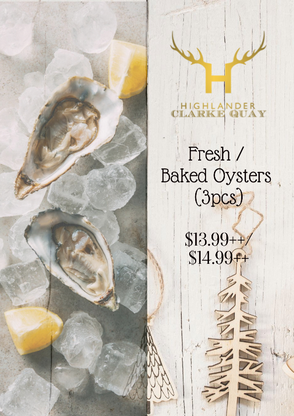 Fresh/Baked Oysters